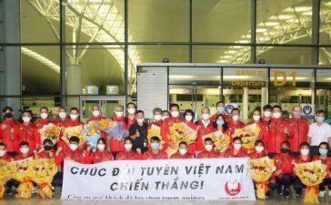 Đoàn thể thao Việt Nam chính thức lên đường tham dự Olympic Tokyo 2020