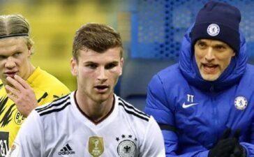 Timo Werner gây bất ngờ thương vụ Chelsea mua Haaland