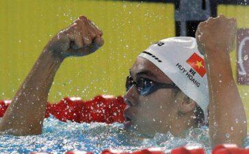 Đứng thứ 12 ở vòng loại, kình ngư Huy Hoàng chia tay Olympic Tokyo