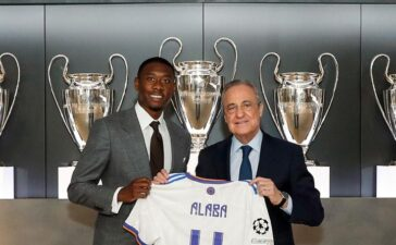 Chính thức: Alaba ra mắt Real Madrid, tiếp quản áo số 4 của Ramos