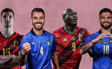 Nhận định bóng đá Bỉ vs Italy tứ kết EURO 2020