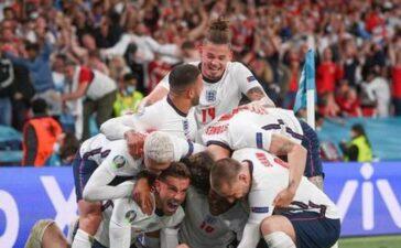 Chặn đứng 'lính chì' Đan Mạch, đội tuyển Anh lần đầu vào chung kết EURO