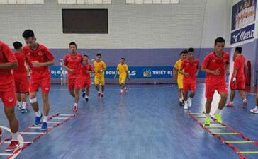 Tuyển futsal Việt Nam tập trung sớm
