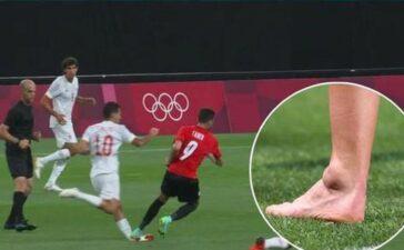 Sao trẻ Tây Ban Nha dính chấn thương kinh hoàng trong trận mở màn Olympic Tokyo 2020