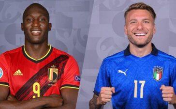 Trực tiếp Italy vs Bỉ: Immobile đối đầu Lukaku