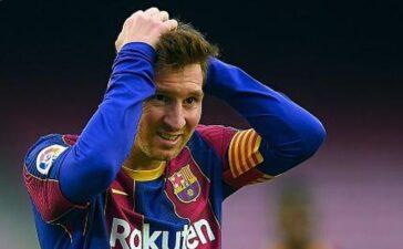 Messi bị xóa tên khỏi trang chủ La Liga