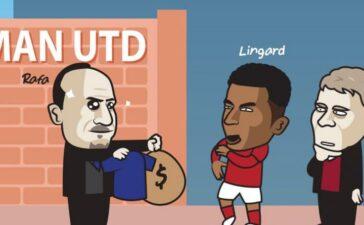 Biếm họa 24h: Everton muốn 'cướp' Lingard khỏi MU