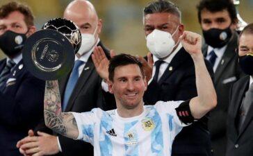 Messi sáng cửa giành Quả bóng vàng thứ 7