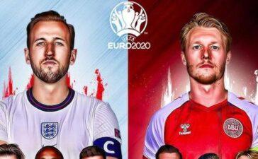 Thông tin mới nhất trước trận Anh vs Đan Mạch, bán kết EURO 2020