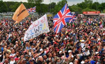 Anh mở đón 140.000 khán giả vào theo dõi chặng đua F1