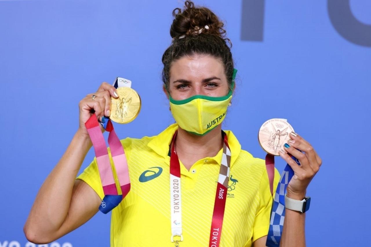 vĐv đua thuyền giành hcv olympic tokyo 2021 nhờ bao cao su