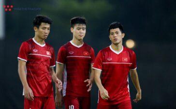 Đình Trọng, Duy Mạnh được thử nghiệm ở vị trí mới trên tuyển Việt Nam