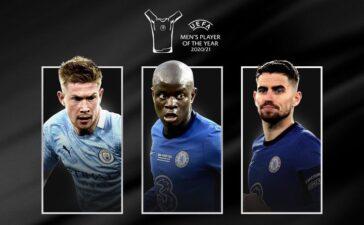 Tốp 3 cầu thủ hay nhất năm của UEFA: Messi và Ronaldo vắng mặt