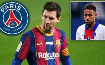 Man City phũ phàng từ chối Messi, Neymar nhường áo số 10 cho đàn anh