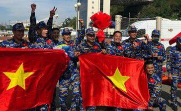 Army Games 2021: Đội Việt Nam vượt Trung Quốc giành huy chương bạc