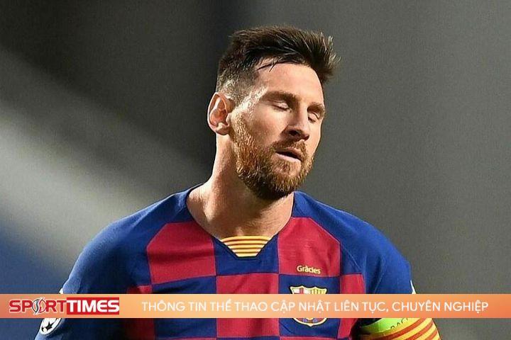 Barca tuyên bố chia tay Messi