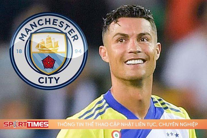 Ronaldo đến Man City, fan MU năn nỉ đừng 'tàn nhẫn' thế!