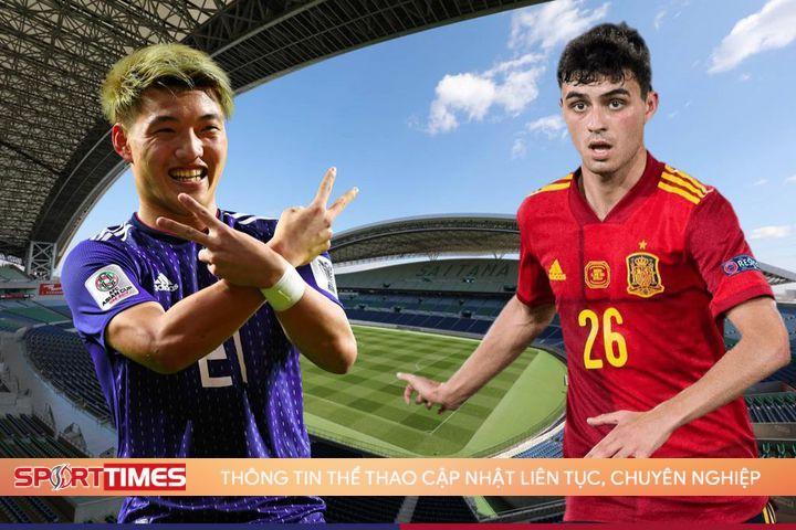 Dự đoán tỷ số, đội hình xuất phát trận Nhật Bản – Tây Ban Nha