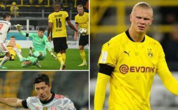 Haaland thể hiện 'khí chất' như Ronaldo... khi Lewandowski ghi bàn