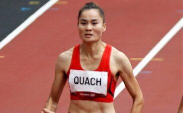 Quách Thị Lan không thể lọt vào chung kết 400 m rào nữ