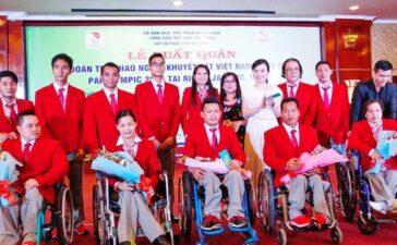 Đoàn thể thao người khuyết tật Việt Nam sẵn sàng tranh tài tại Paralympic Tokyo 2020