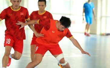 Tuyển futsal Việt Nam chú trọng đấu pháp tổng lực