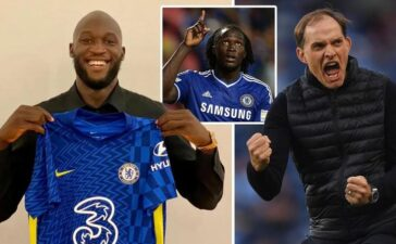Romelu Lukaku chính thức tái hợp với Chelsea