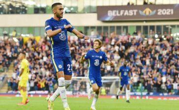 Chelsea 1-0 Villarreal: Hakim Ziyech lên tiếng (H2)
