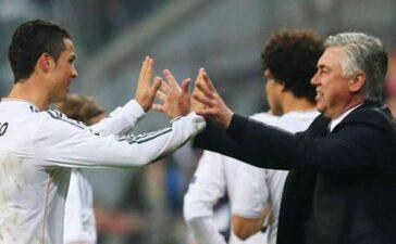 HLV Ancelotti xúc tiến thương vụ đưa Cristiano Ronaldo trở lại Real