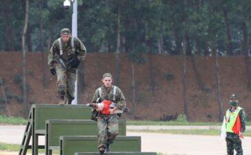 Thi đấu môn xạ thủ bắn tỉa và vùng tai nạn tại Army Games