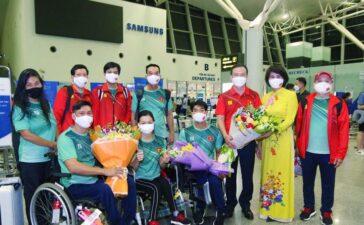 Đoàn thể thao Việt Nam lên đường dự Paralympic Tokyo 2020
