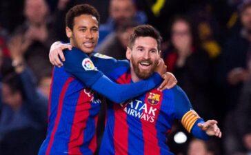 Neymar dụ dỗ, Messi từ chối