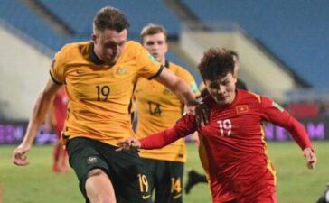 Tuyển Việt Nam thua 0-1 trước Australia trên sân Mỹ Đình