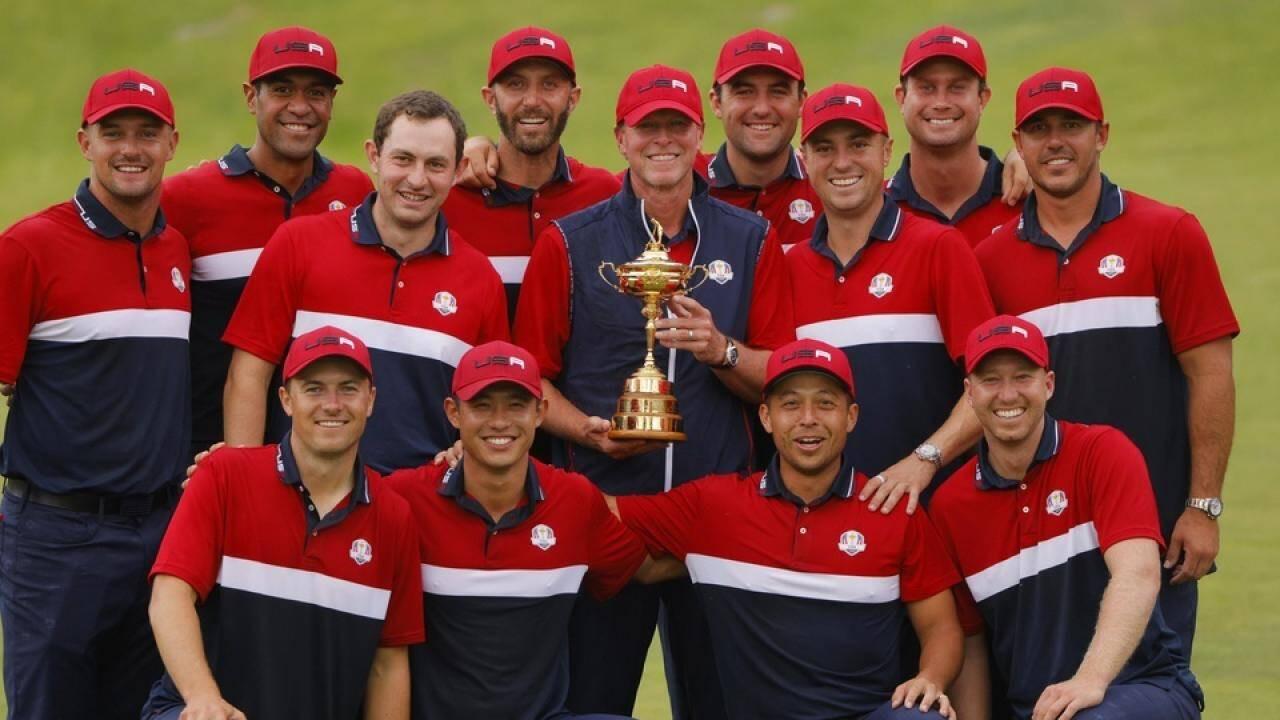 tuyển golf mỹ vô địch ryder cup 2021 với điểm số kỷ lục