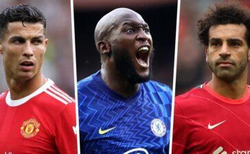Xếp hạng tiền đạo hay nhất Premier League, Ronaldo thất thế, Lukaku lặn sâu